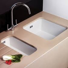 Kitchen Porcelain Sink Undermount Kitchen Sinks The Home Depot Intended For