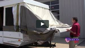 popup camper folding tent camper rv setup and use on vimeo