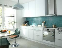 cuisine équipée blanc laqué cuisine equipee blanc laquee cuisine blanc laquee et bois photo en