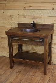 Diy Rustic Bathroom Vanity Bathroom Vanity Rustic Bathroom Decor Distressed Wood Bathroom