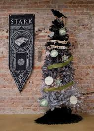 winter is here game of thrones inspired christmas trees