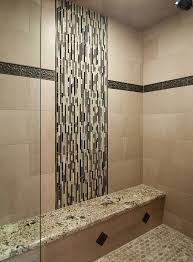 imposing space traba homes in black stainlesssteel shower on wall