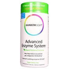 rainbow light advanced enzyme system amazon com rainbow light advanced enzyme system 60 vegetarian
