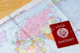 The World Political Map by Old Political Map Of The World And The Passport Of A Citizen