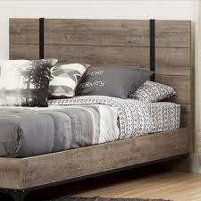 Distressed Oak Bedroom Furniture by Meadow Weathered Gray Panel Bedroom Set From Progressive Furniture