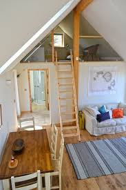 Mezzanine Bedroom Accessible By Fold Away Ladder Bathroom - Mezzanine bedroom design