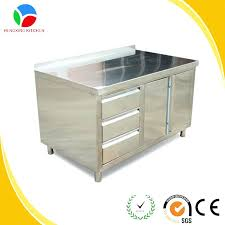 Stainless Steel Wall Cabinets Commercial Kitchen Design Stainless Steel Cabinets Used Wall
