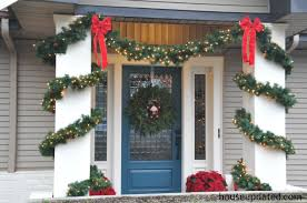 Christmas Decorations For Porch Columns by Holidays Archives House Updated