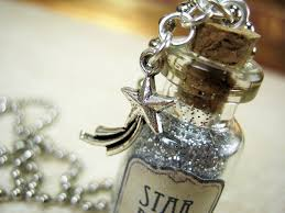 glass bottle necklace pendants images Stardust 2ml glass vial necklace star dust glass bottle pendant jpg