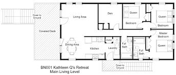 The Retreat Floor Plans Soundfront Vacation Rental Kathleen Q U0027s Retreat