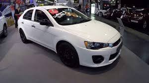 lancer mitsubishi white mitsubishi lancer sportback basis white colour walkaround