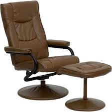 Furniture Beige Walmart Recliner For by Flash Furniture Contemporary Leather Recliner And Ottoman