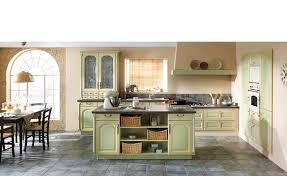 cuisine jaune et verte cuisine bois lully cuisine cuisines