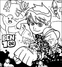 marvelous ideas ben ten coloring pages free printable 10 for kids