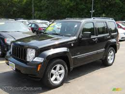 liberty jeep 2007 2009 jeep liberty rocky mountain edition 4x4 in brilliant black