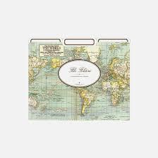 cavallini file folders cavallini co world map file folders set stationery staples