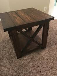 How To Build Wood End Tables by Here U0027s An Idea For Simple Cheap Diy End Tables Do It Yourself