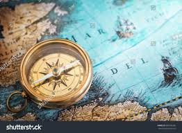 Old Map Background Royalty Free Old Compass On Vintage Map Adventure U2026 600126266