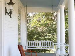 what does the color blue mean contemporary porch to obviously