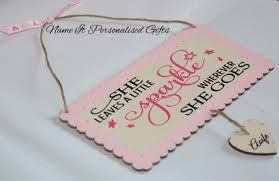 Baby Plaques Nameitpersonalisedgifts Com