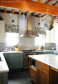 Ceramic Tile Backsplash by Kitchen Style Eclectic Kitchen White Ceramic Tile Backsplash