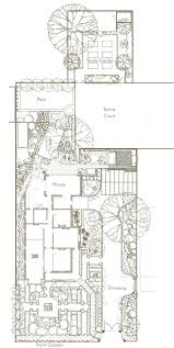 design for unley park residence south australia hand drawn plan
