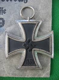 german iron cross 2nd class 1939 with paper bag of issue 1501033