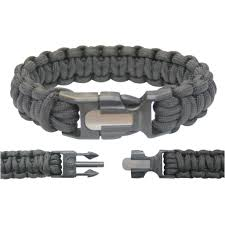 paracord bracelet images Hot rod paracord bracelet with fire starting kit jpg