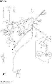 2014 suzuki boulevard s40 ls650 wiring harness ls650l4 e03 parts