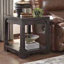 Inexpensive Side Tables Distressed Finish End Side Tables Youll Love Wayfair Living Room