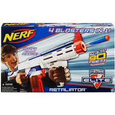 nerf car shooter nerf n strike elite retaliator blaster walmart com