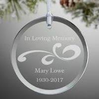 in loving memory ornaments decore