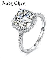 buy diamonds rings images Wedding rings for women square diamonds simulator ring bague jpg