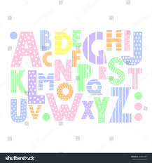 clip art alphabet set colorful letters numbers and clipart best