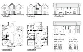 house design blueprints 5 bedroom house blueprints 9 cozy design house plans two story 4