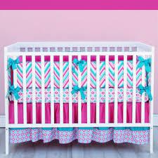 Pink And Teal Crib Bedding Shop Chevron Crib Bedding On Wanelo