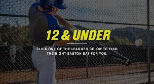 baseball bat selector guide easton sports