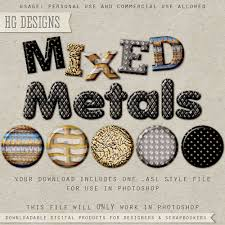 ps style mixed metals by hggraphicdesigns on deviantart