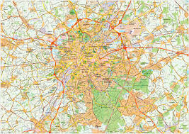 Brussels Germany Map Download Brussels Vector Maps As Digital File Purchase Online