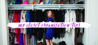create an organized closet how to organize a closet u2013 michelle phan
