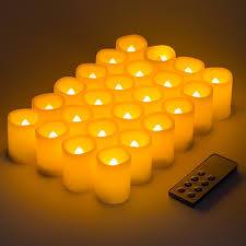 kohree led votive unscented battery powered candles