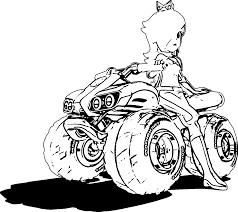 mario kart 8 coloring pages snapsite