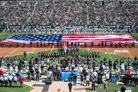 Oakland Raiders American Flag Raiders Offensive Line Plans Anthem Protest In Washington Silver