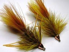 brown streamers yellow articulated streamer fly tying