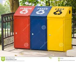 3 Bin Cabinet 30 Gallon Durable And Customizable Recycling Bins Or Trash Cans 3