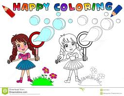 coloring book for kids stock illustration image 59137834