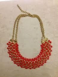 red necklace online images Necklaces red statement necklace indiebazaar jpg