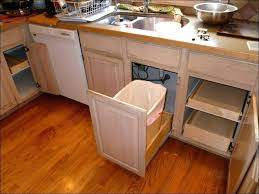 kitchen cabinet trash pull out kitchen cabinet trash bins cabinet pull out shelves kitchen garbage