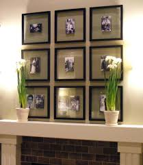 fireplace mantel decor for fall pots flowers inexpensive ideas