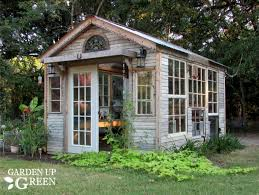 she shed reclaimed she shed greenhouse garden up green